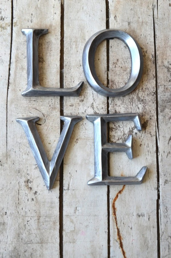 Vintage Letters for Wall Decor