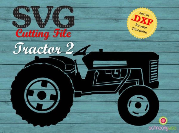 Tractor Svg Farm Open Top Design