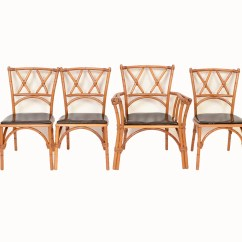 Heywood Wakefield Chairs Revolving Chair Small Ashcraft Bamboo 4 Dining Mid Century