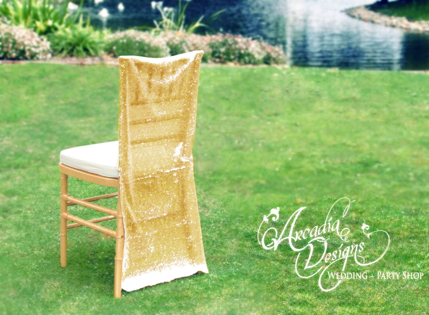 bride and groom chair covers dining chairs white legs sequin wedding decoration made to order sparkly