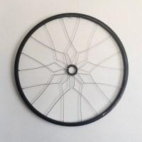 Bicycle wall art AJAH geometric home decor recycled bike