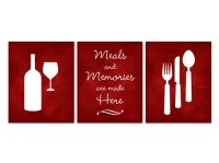 Items similar to Holiday Decor, Kitchen Art, Fork and ...