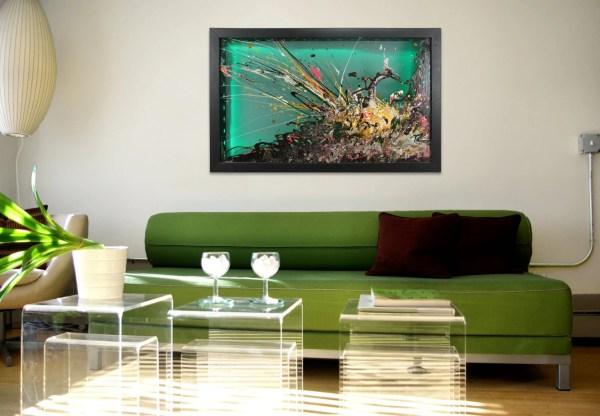 Glass Wall Artlarge Abstract Artwall Art