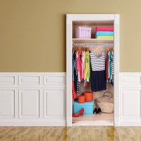 Door STICKER Closet Wardrobe Mural Wall Decal by