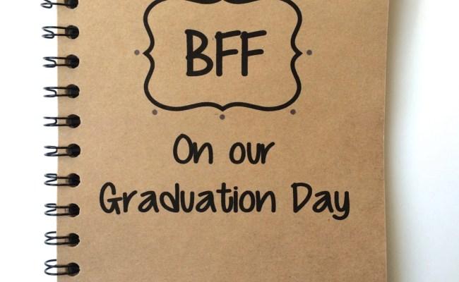 Best Friend Gift Graduation Gift Bff Class Of 2016
