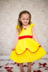 Belle Dress Yellow Princess Lover Dovers Handmade