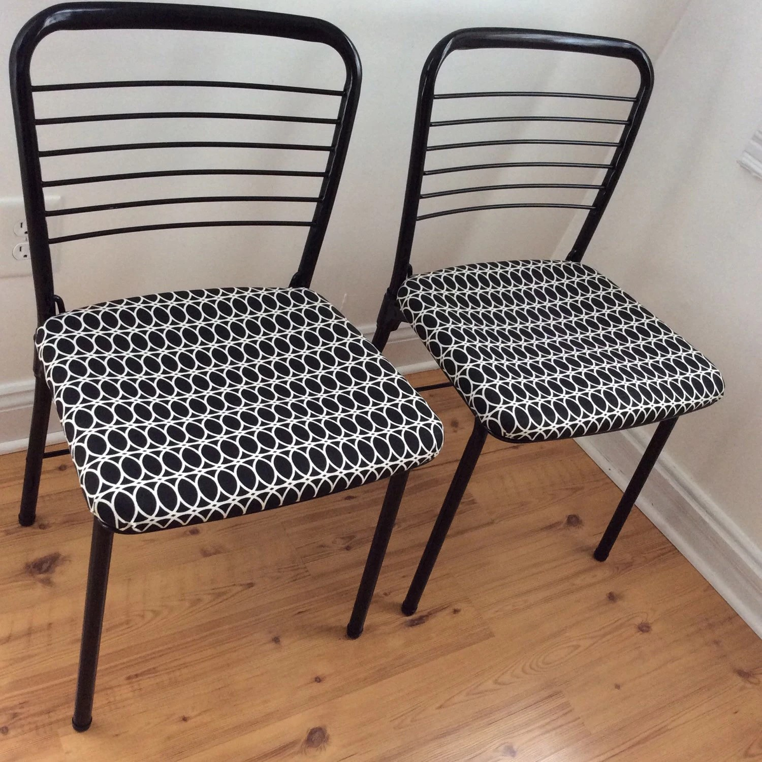 cosco card table and chairs santa chair covers hobby lobby mid century mod set fashionfold  geometric