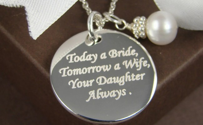 Wedding Gift For Mother Of The Bride Personalized Engraved
