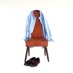 Mens Valet Chair Beach Cart Mid Century Wardrobe By