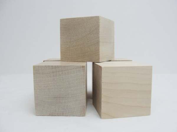 2 1 Wooden Cube Block 2.5