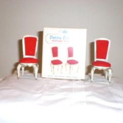 Doll Salon Chair Folding Clipart Retro Mid Century Petite Princess Furniture Hostess
