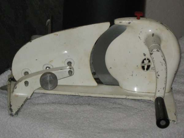 Vintage General Meat Slicer 100 Manual Hand Crank - Year of