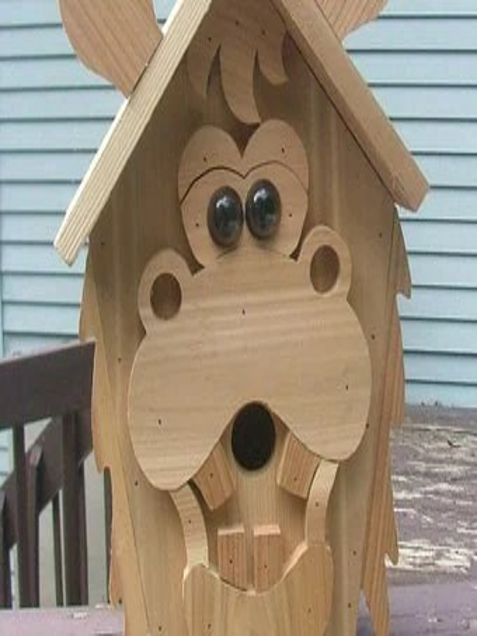 Funky Birdhouse Etsy