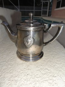 Vintage Early 1900s Metal Teapot