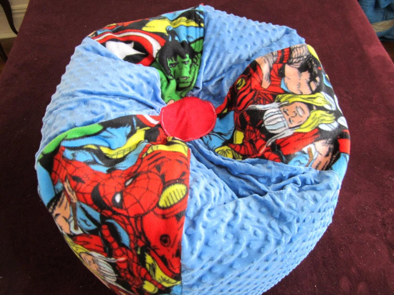 avengers bean bag chair swivel designer marvel www topsimages com super heroes add name kids floor jpg 1500x1125