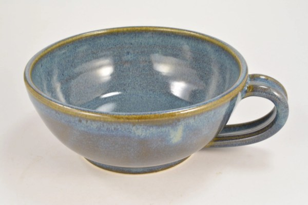 Stoneware Soup Bowls with Handles