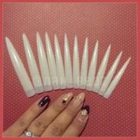 Longest length Super long stiletto nails 9cm