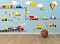 Boys Room Wall Decals - b Wall Decal