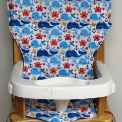Eddie Bauer Wood High Chair Office Adjustable Armrest Older Wooden Pad Replacement Cover
