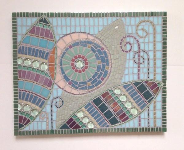 Pastel Mosaic Art Abstract Artwork