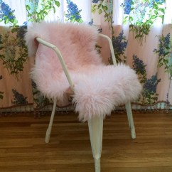 Sheepskin Rug On Chair Hammock Stand Ikea Faux Fur Cover Or Pet Bed Custom By Cloudhunterco
