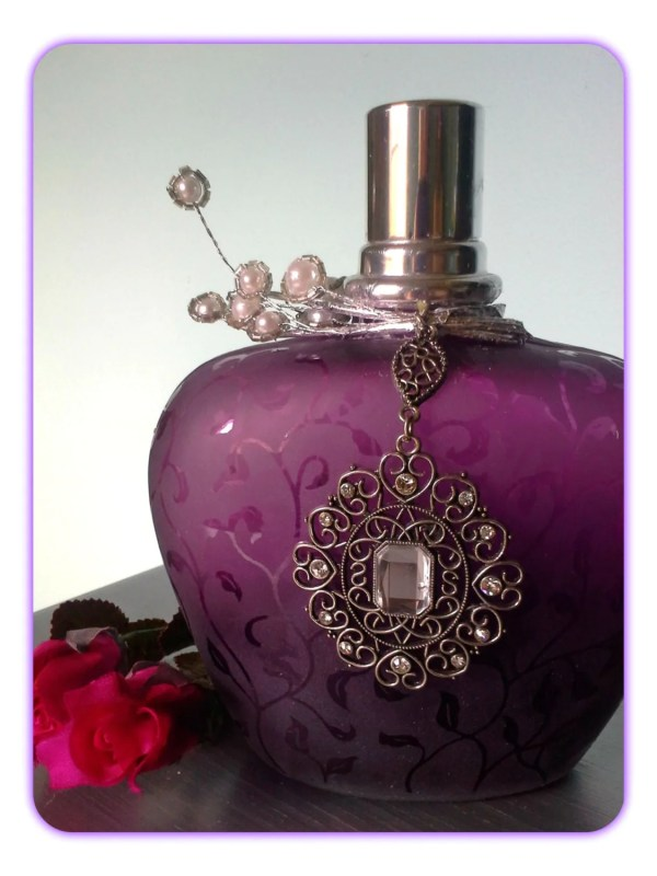 Purple Perfume Bottle