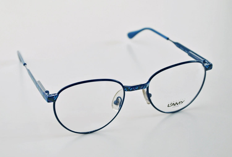 Vintage L AMY LUNETTES PARIS ladies frame glasses ...