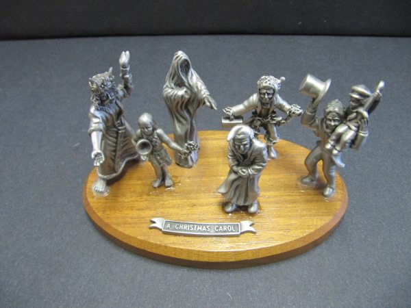 Hudson Pewter Hours Carousel 7 Pieces - Year of Clean Water