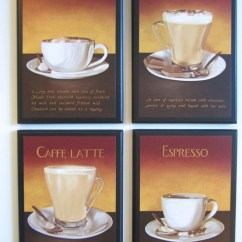 Grapes And Wine Kitchen Decor Outdoor Storage Coffee Lovers Wall Plaques Mocha Espresso