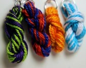 Two Color Yarn Skein Earr...