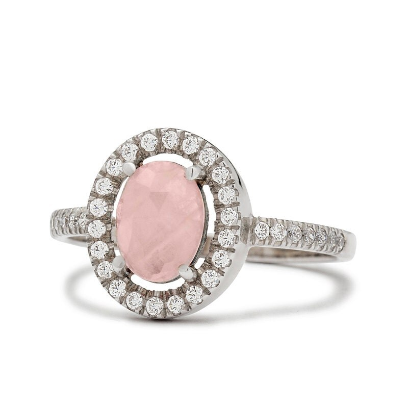 Image Result For Rose Quartz Wedding Rings
