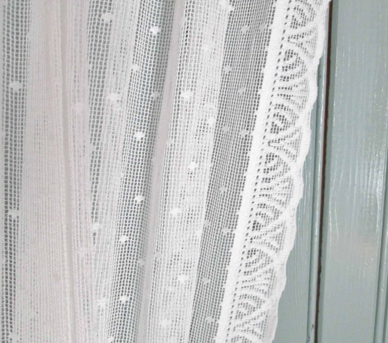 swiss dot curtains