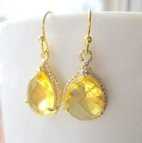 The gallery for --> Yellow Topaz Earrings