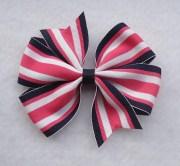 basic boutique hair bow 4 pinwheel
