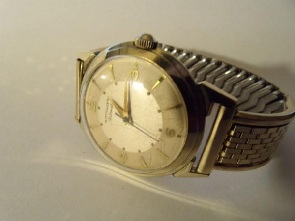 Mens Watch Wittnauer Automatic Gold Filled 1960'