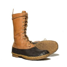 Men' Vintage Ll Bean Boots Tall Duck Shopndg