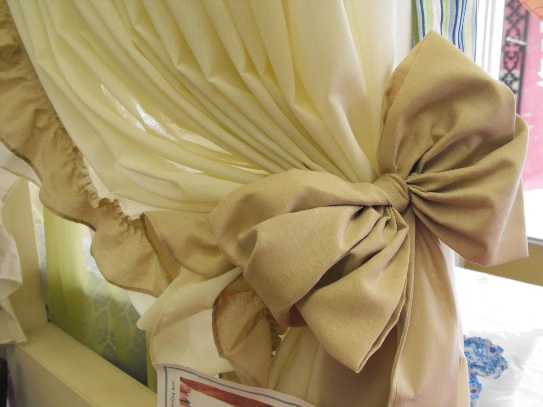 Curtain Bow Tie Backs 10 Colors Curtain Tie Backs Curtain