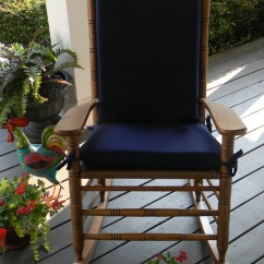 Cracker Barrel Rocking Chair Reviews Nursing Glider Indoor Outdoor Solid Navy Dark Blue 2 Pc