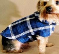 Dog Clothes Flannel Pet JacketVest HoodieShirt Teacup Pet