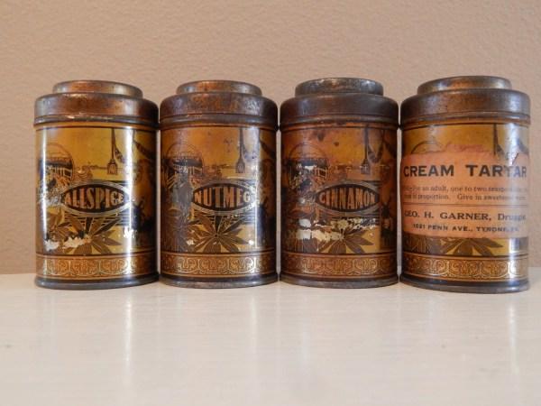 Antique Spice Jars