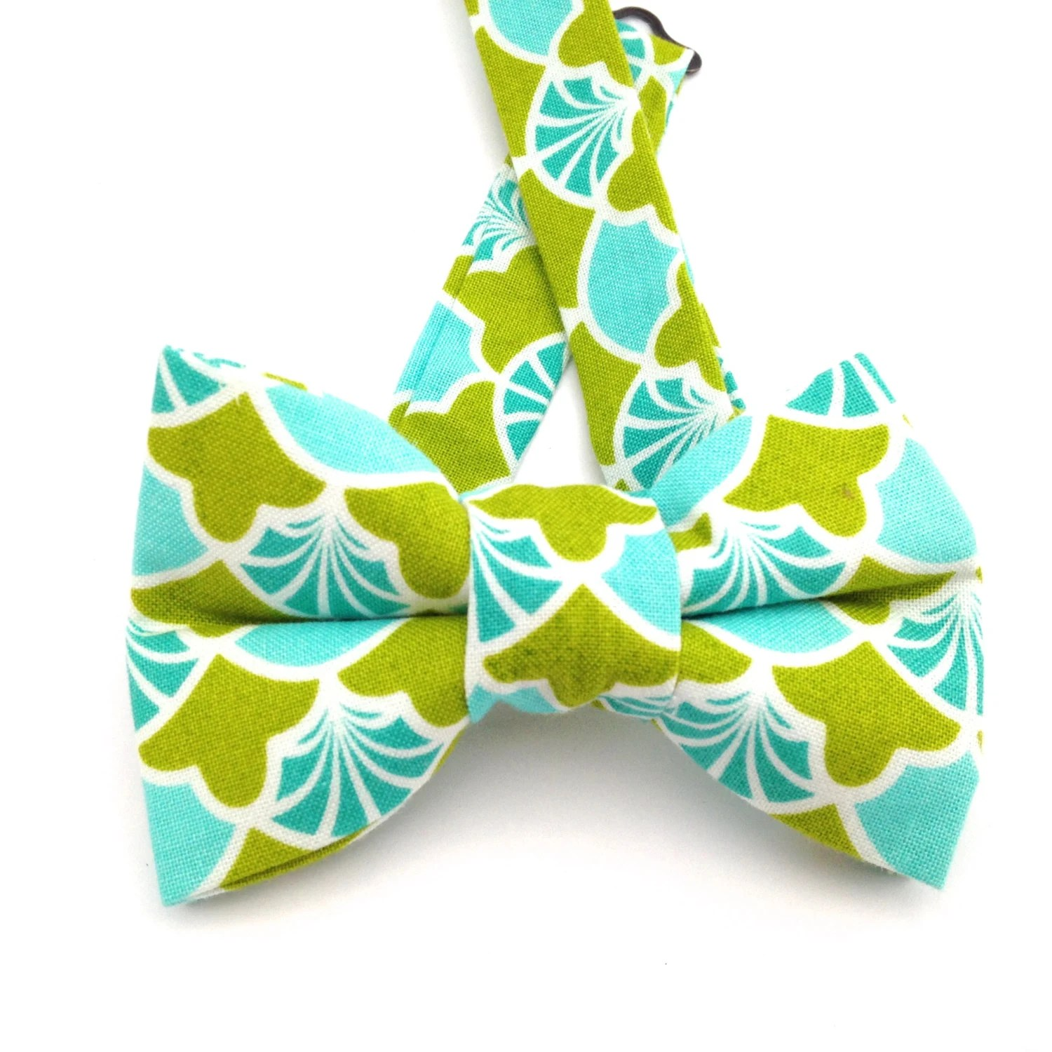 Green and Blue bow tie Green and blue tie green and blue