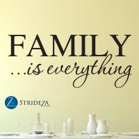 Family wall decal family is everything wall decal family
