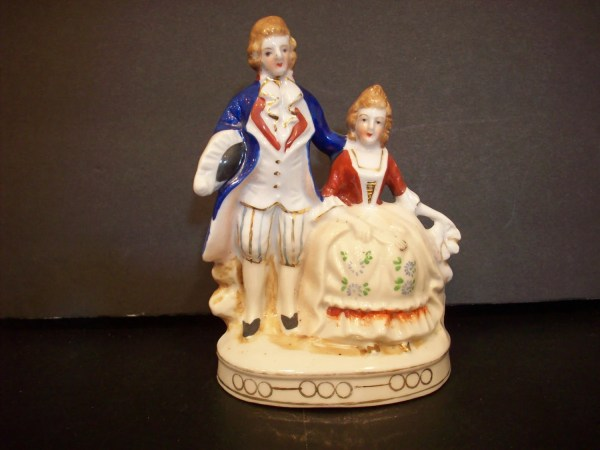 Antique In Occupied Japan Figurine Courting