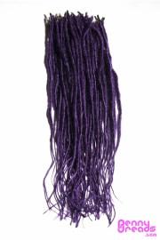 dark purple synthetic dreadlock