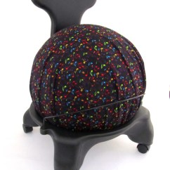 Yoga Ball Chair Reviews Loveseat And Set Exercise Cover Fits Isokinetics By