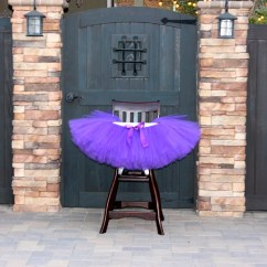 Attachable High Chair The Salon And Spa Any Color Tutu Decoration First