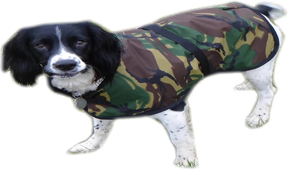 Extra Small Dog Coats Warm waterproof camouflage design by