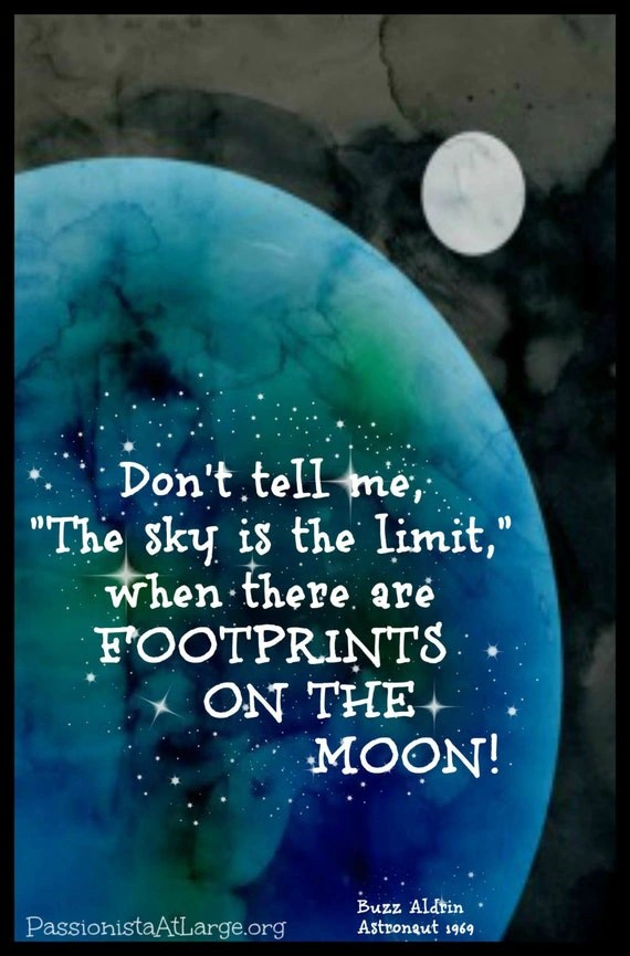 Don't Tell Me The Sky Is The Limit Graduate by EmPOWordmentCards