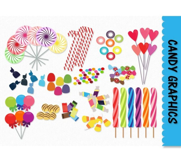 candy clip art graphics clipart