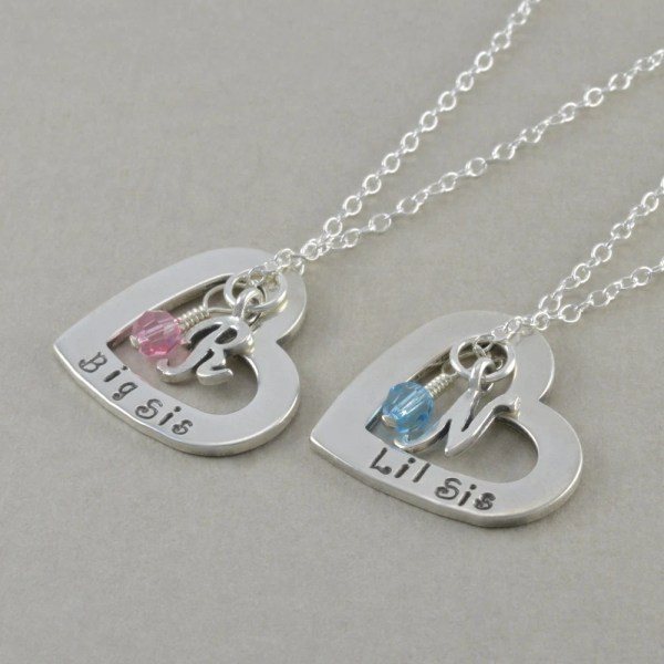 Sister Necklaces Set Of 2 Sterling Silver